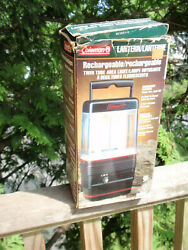 COLEMAN RECHARGEABLE LANTERN TWIN TUBE AREA LIGHT CAMPING EMERGENCIES 5342A75 $25.20