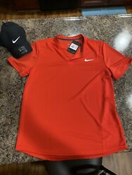 Men's Nike Shirt Size Large With Hat $25.00