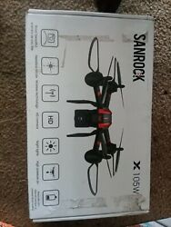 Sanrock X105W Black Red X Series Drone HD Camera Altitude Hold Quadcopter $35.00