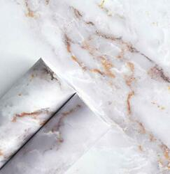 Marble Contact Paper for Countertops Marble Wall Paper Matte Peel and Stick W.. $9.64