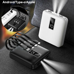 900000mAh Power Bank Charger External Battery 2USB 2LED Mini For Cell Phone $13.99