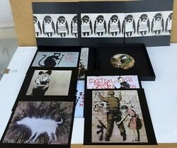 Banksy Collection Wall And Piece 2006 Paperback Limited Edition 53 100 2011 $150.00