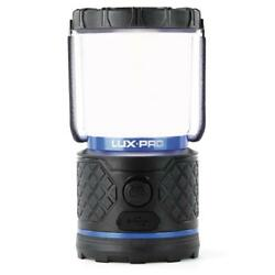LUXPRO LED Lantern Rechargeable Dual Battery Power Bank Diffused Lens 360 Degree $51.29