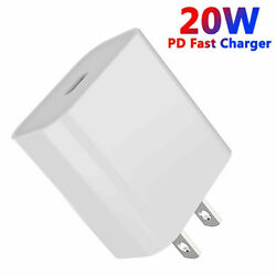 USB C 20w Power Block Adapter Charger for Apple iPhone 12 13 Phone Fast Charging $8.89