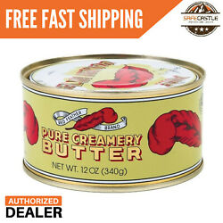 New Red Feather Canned Butter A real butter from new Zealand 100% pure 1 Can $17.98