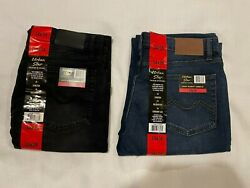 Urban Star Men#x27;s Relaxed Fit Straight Leg Stretch Jeans $19.99