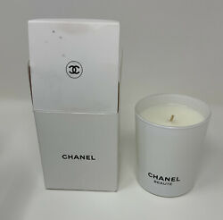 WOMENS MENS CHANEL BEAUTE Scented Candle White 6.7 oz VIP GIFT $90.00