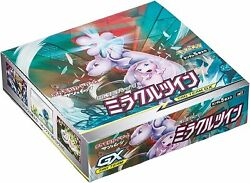 JAPANESE Miracle Twins SEALED BOX 30 Booster Packs Pokemon Cards SM11 CH $89.99