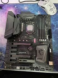 MSI Gaming K5 Z270 Motherboard with delidded 7700k Stable OC 5.0Ghz $384.50