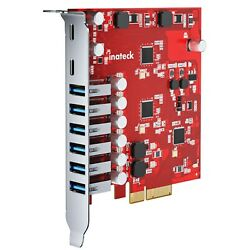 Inateck PCIe to USB 3.2 Gen 2 Expansion Card 20Gbps w 6 USB A amp; 2 USB C Ports $59.99