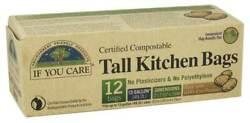 If You Care Certified Compostable Tall Kitchen Bags 12 Bags $10.06