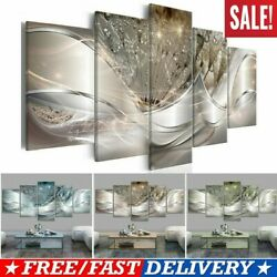 Home Art Decor Abstract Flower Wall Art Canvas Print Pictures For Living Room $17.42
