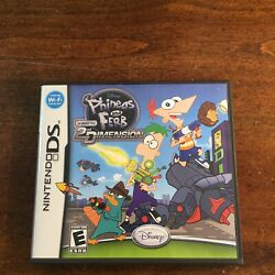 Phineas and Ferb: Across the 2nd Dimension Nintendo DS 2011 $7.00