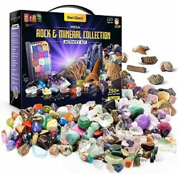 Rock Collection for Kids. Includes 250 Gemstones Crystals Rocks and more $24.99