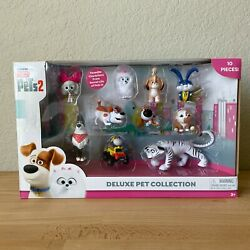 Secret Life of Pets 2 Deluxe Collection 10 Pack Brand New $32.49