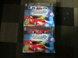 2 PROPEL RC Turbo Drift CAR 4WD Radio Control Racer WHITE YELLOW LOT OF 2 NEW $45.50