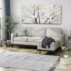 amatop Extra Large Wall Art for Living Room Canvas Print with Hand Painted Tree $227.32