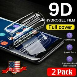 2 Pack HYDROGEL Full Screen Protector For Samsung Galaxy A01 A11 A21 A31 A51 A71 $3.35