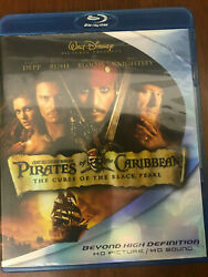 Pirates of the Caribbean: The Curse of the Black Pearl Blu ray Disc 2007... $8.00