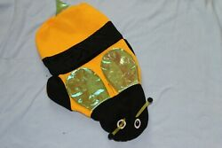 HALLOWEEN DOG LARGE L BUMBLE BEE SWEATSHIRT NEW WITH TAGS $9.99