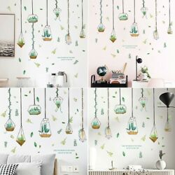 Room Wall Stickers Stickers Art Wall Bathroom Birdcage Decal Gifts Durable $9.04