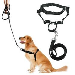 No Pull Dog Pet Harness Adjustable Control Dogs Lead Leash Small Medium Dogs $8.99