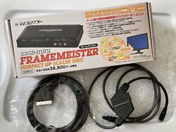 Framemeister XRGB mini with English Controller Overlay No Batteries US Seller $475.00