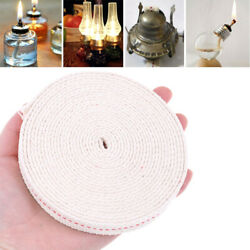 1.5m Flat Cotton Oil Lamp Wick Roll For Oil Lamps and Lanterns dr C $2.49