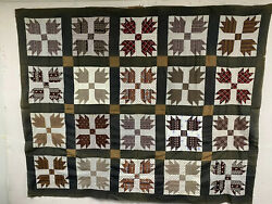 Vintage Bear Paw quilt top $80.00