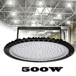 500W UFO Led High Bay Light Industrial Warehouse Shop Commercial Light Fixture A