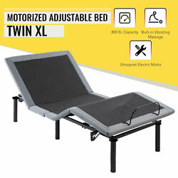 Motorized Twin XL Bed Frame w Remote Control Massage amp; USB Charging Ports $376.44