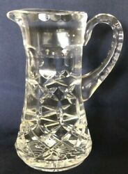 Beautiful Vintage Waterford Crystal 6quot; Pitcher Jug 12 oz $21.99