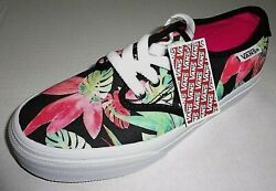 NWT Vans Off The Wall Girls Camden Low Lace Tropical Sneaker Shoes Kids 1.5 Y $32.00