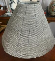"""Vintage Shade for Lampquot; Beadsquot; hand craft? Base 13 1 2#x27;quot; x 9 1 2"""" Tall Heavy $31.95"""