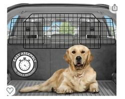 Pawple Dog Cat Barrier for SUV#x27;s Cars amp; Vehicles Large Pet Barrier Open Box $37.95