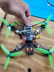 FPV Racing Drone 4quot; Alien BNF WITH FATSHARK Dominator v3 GOGGLES with LaForge $350.00