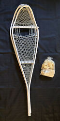 Vintage Military magnesium snow shoes with bindings 46x12 $79.00