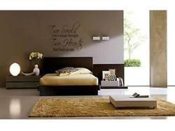 TWO SOULS TWO HEARTS Home Bedroom Wall Art Decal 36quot; $18.99