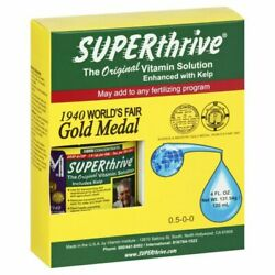 Superthrive 4 oz. Original Vitamin Solution with Kelp Hydroponics Fertilizer $14.95