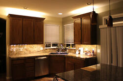 Kitchen Cabinet Counter LED Lighting Strip SMD 3528 300 LEDs 20 ft WARM WHITE