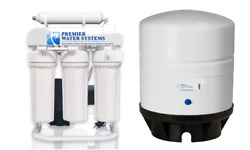 300 GPD Light Commercial RO Reverse Osmosis Water Filter System 11 gal Tank+Pump $465.49