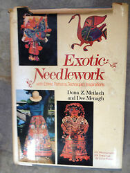 Exotic Needlework with Ethnic Patterns Techniques Inspirations s#566(hardback) $9.91