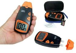 Moisture Meter 4 Pin Digital LCD Humidity Tester Metre Wood Cotton Paper Battery AU $39.25
