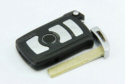 Remote Smart Uncut Key Blank Shell Case Cover For BMW 6 7 Series Fob 4B No Chip