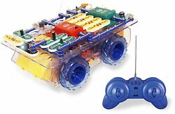 ELENCO Snap Circuits RC Rover SCROV 10 DIY ELECTRONIC KIT AGES 8 AUTHORIZED $99.97
