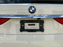 REAR LICENSE PLATE HOLDER BRACKET FOR BMW + 6 Unique Screws & Wrench NEW $8.98