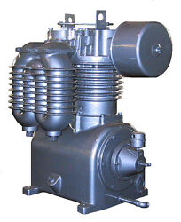 MODEL PL4500 SAYLOR BEALL PRESSURE LUBRICATED TWO STAGE AIR COMPRESSOR BARE PUMP $5,583.00