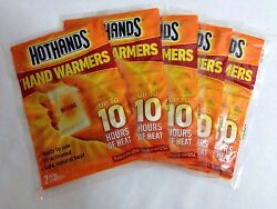 Hothands 10 Hour Hand Warmers 5 Pairs 10 warmers $8.44