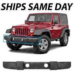 NEW - Stock Front Bumper Replacement for 2007-2018 Jeep Wrangler JK 07-18 USA $78.44