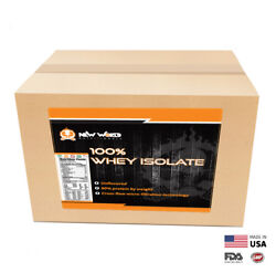 3lb Pure Bulk Whey Protein Isolate Direct From Manufacturer UNFLAVORED